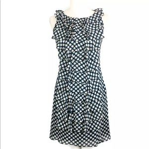 Adrianna Papell Navy blue A-line dress sz 4